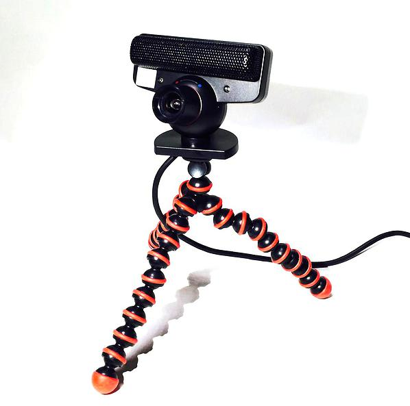 camera with tripod image